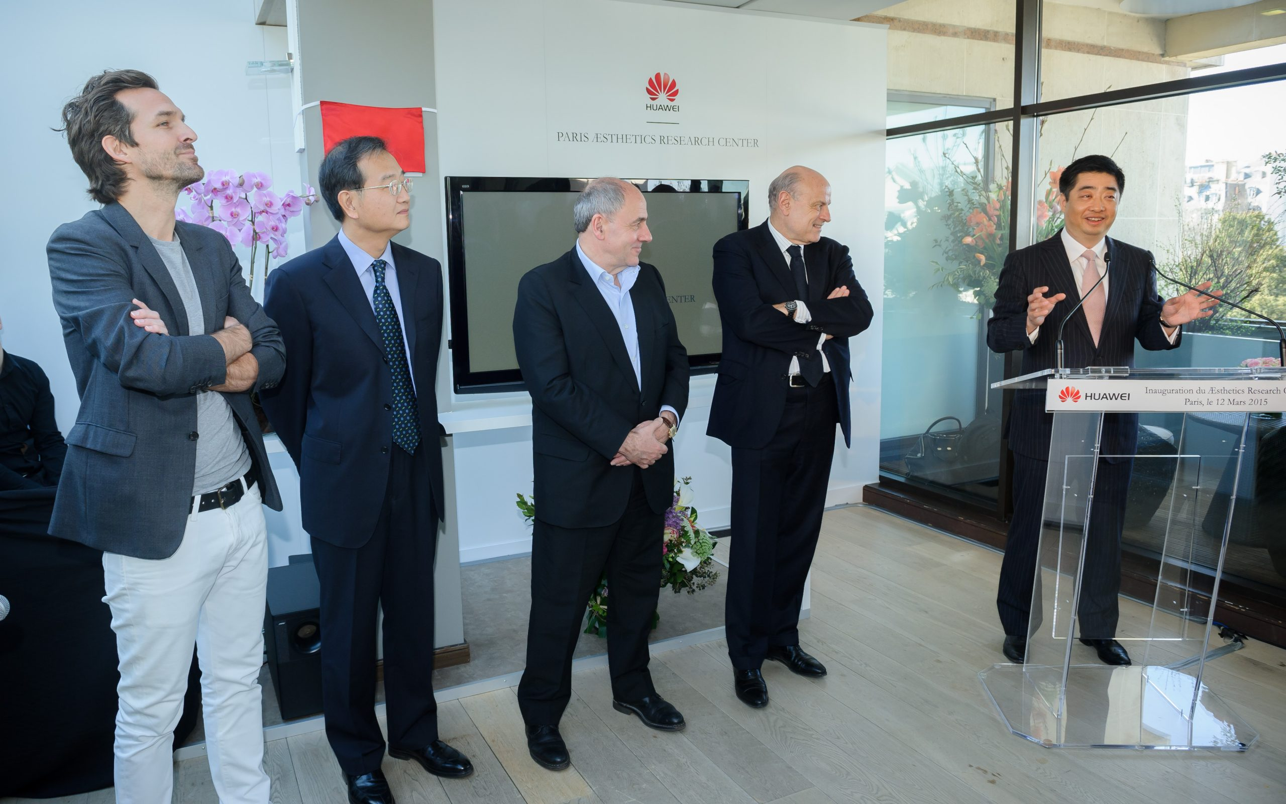 INAUGURATION, AESTHETIC RESEARCH CENTER, HUAWEI, R2 STAND & EVENT
