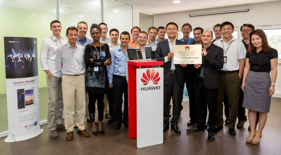CEREMONIE, INAUGURATION, HUAWEI, R2 STAND & EVENT